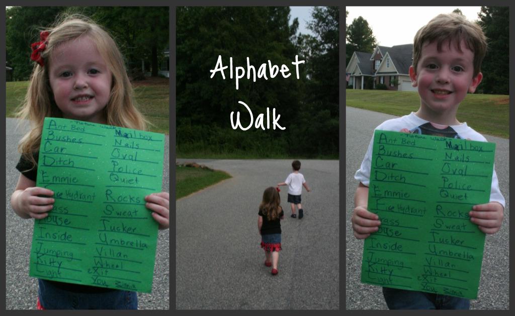 Alphabet Walk